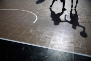 APTOPIX NBA 3 on 3 Basketball