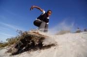 APTOPIX South Africa Sandboarding Boys