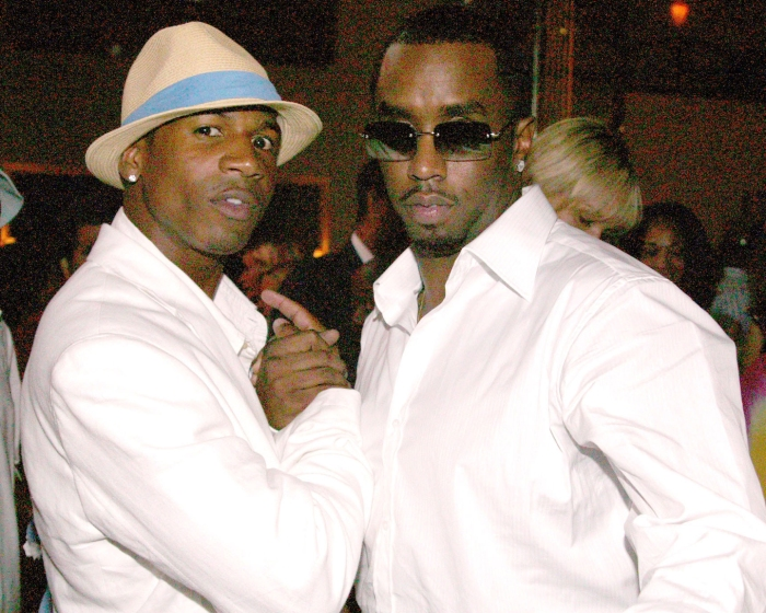 Stevie J and Sean P.Diddy Combs during Bad Boys of Comedy HBO Late Night Series Hosted by Sean P. Diddy Combs Premiere Party at Cipriani in New York City, New York, United States. ()