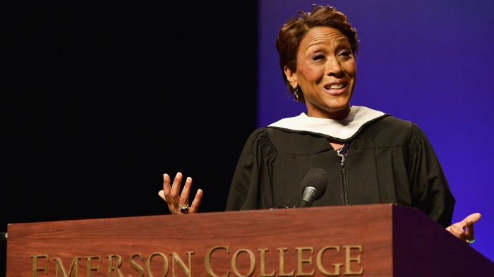 Emerson College Commencement 2015