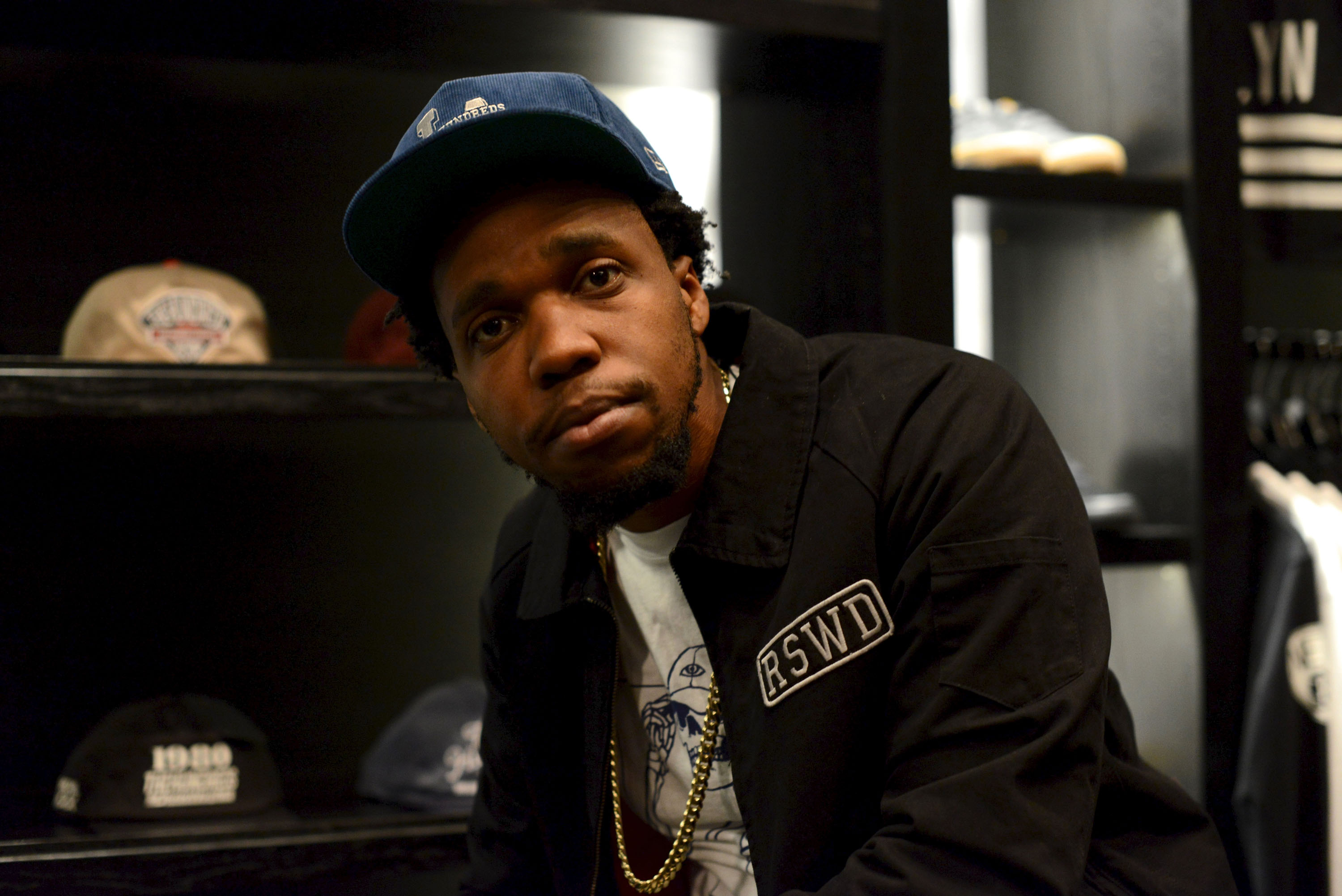"Curren$y Listening Party For ""Canal Street Confidential"""