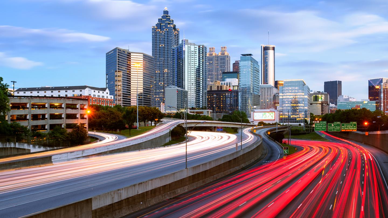 North Avenue, Atlanta, Georgia, America
