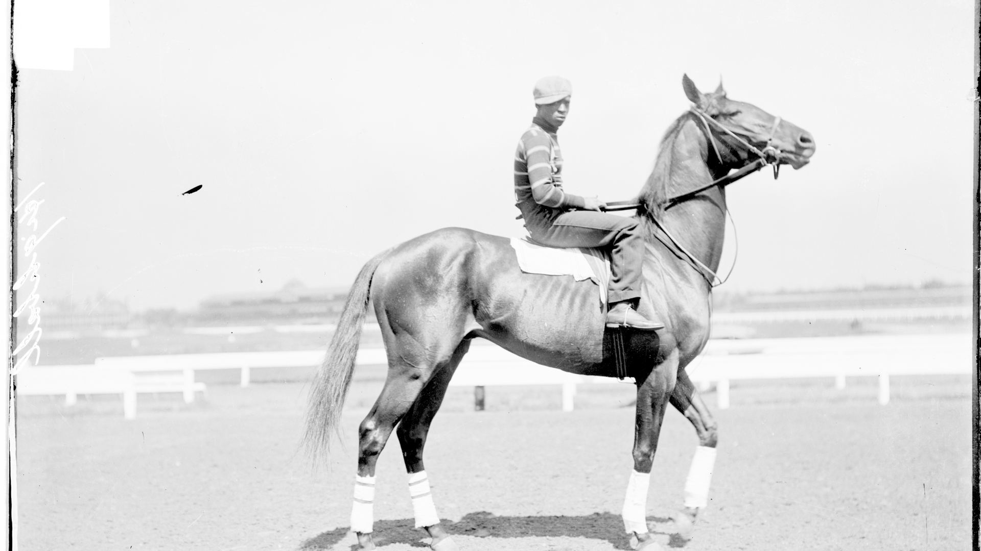 A Jockey Atop Highball