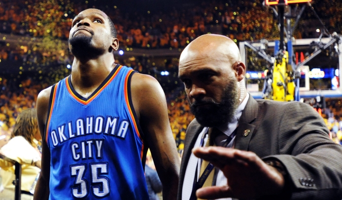 c168aa9aa362 The KD question  Did Kevin Durant play his last game for the Thunder