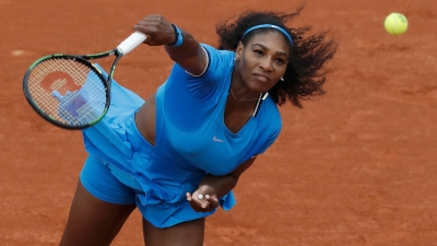Tennis – French Open – Roland Garros – Serena Williams of the U.S. vs Teliana Pereira of Brazil
