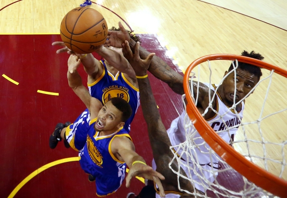 NBA: Finals-Golden State Warriors at Cleveland Cavaliers