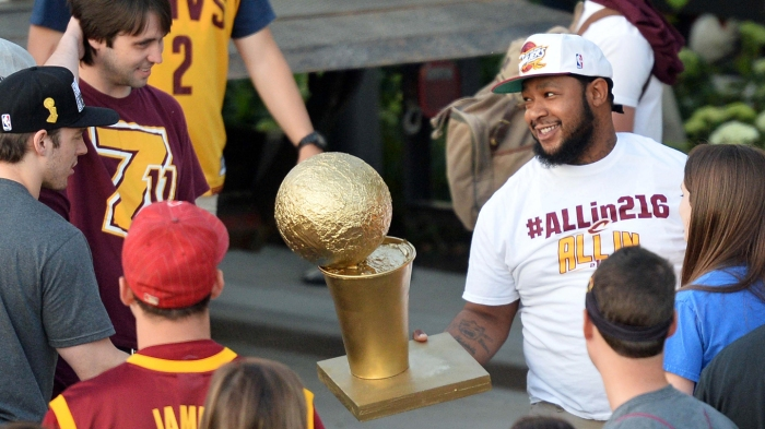 NBA: Cleveland Cavaliers-Championship Celebration