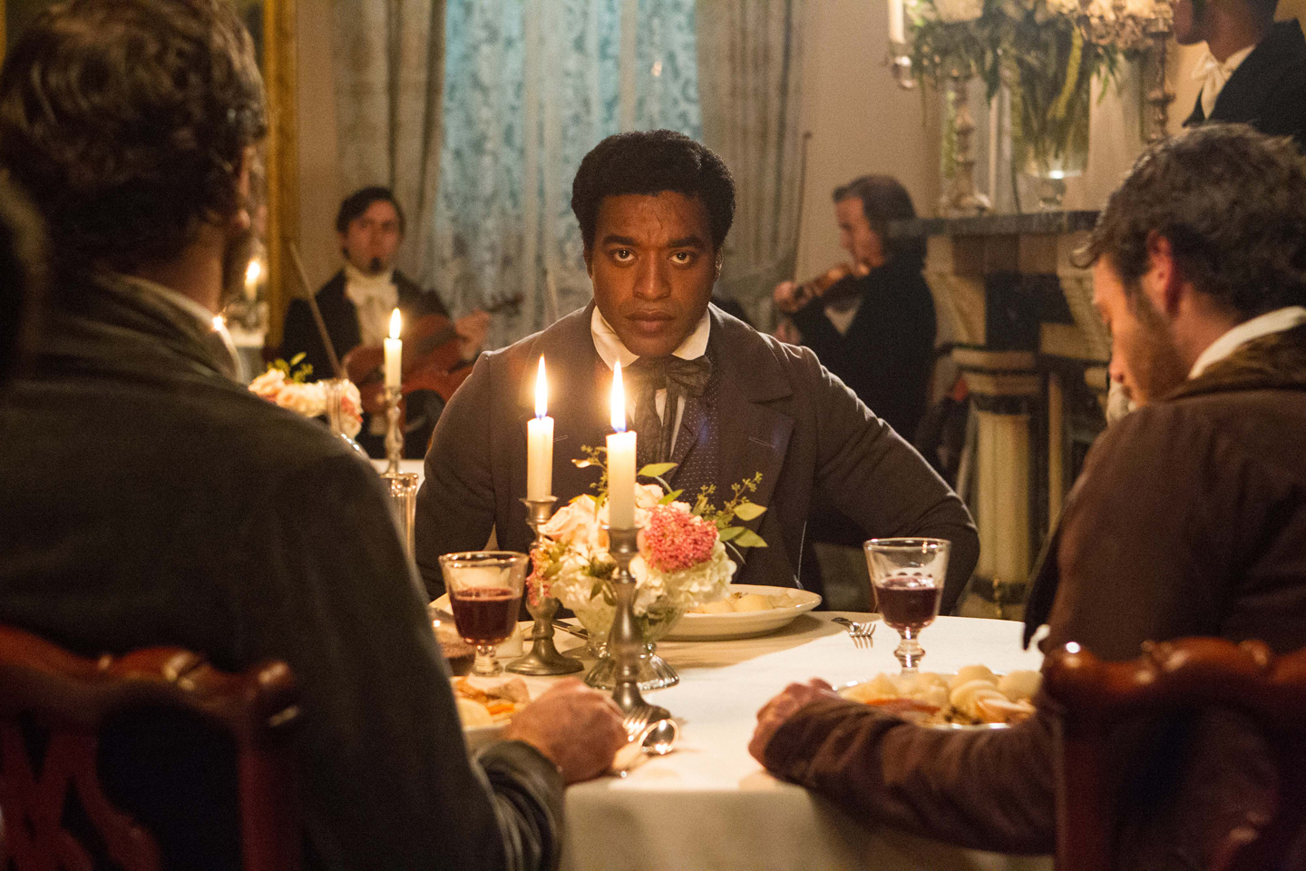 "This undated file image released by Fox Searchlight, Chiwetel Ejiofor portrays Solomon Northup in a scene from ""12 Years A Slave."" From ""12 Years a Slave"" to ""The Butler"" to ""Fruitvale Station,"" 2013 has been a banner year for movies directed by black filmmakers."