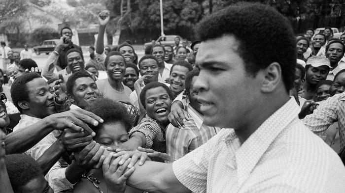 Muhammad Ali                                Zaire