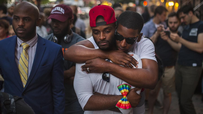 APTOPIX Nightclub Shooting New York Vigil