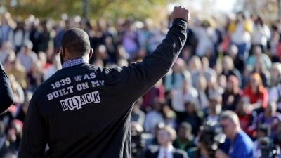 Campus Protests-A Boycotts Birth Football