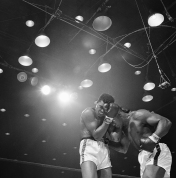 Sonny Liston and Muhammad Ali        Boxing