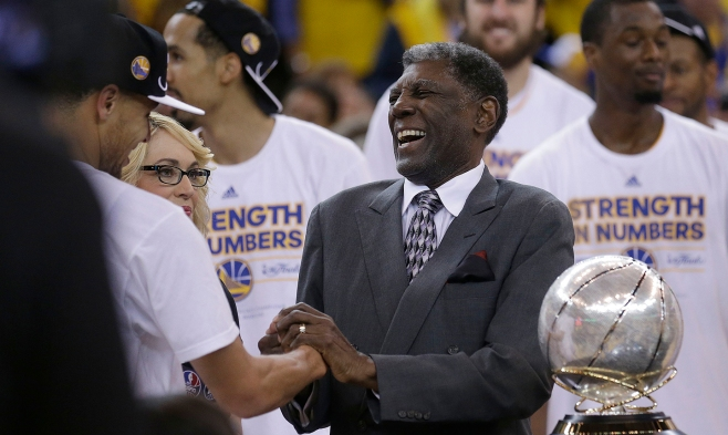 Stephen Curry, Al Attles