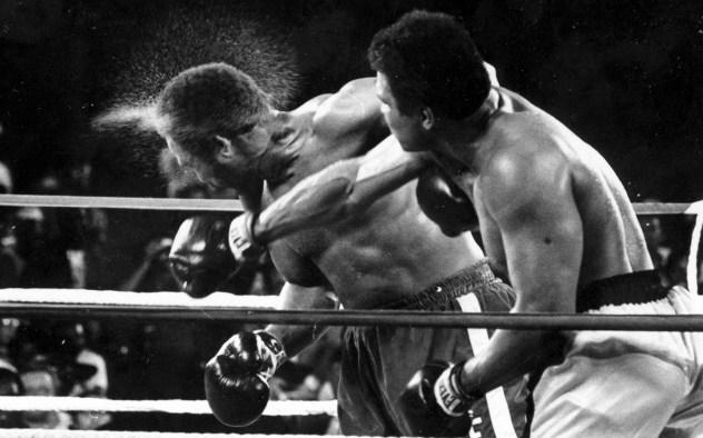 George Foreman Muhammad Ali