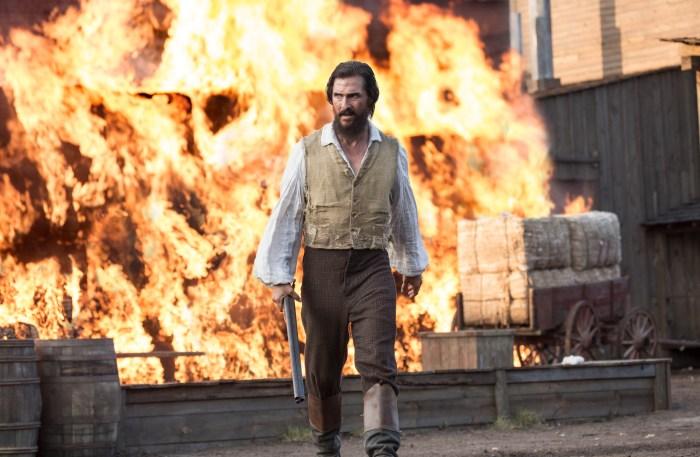 Matthew McConaughey stars in Free State of Jones.