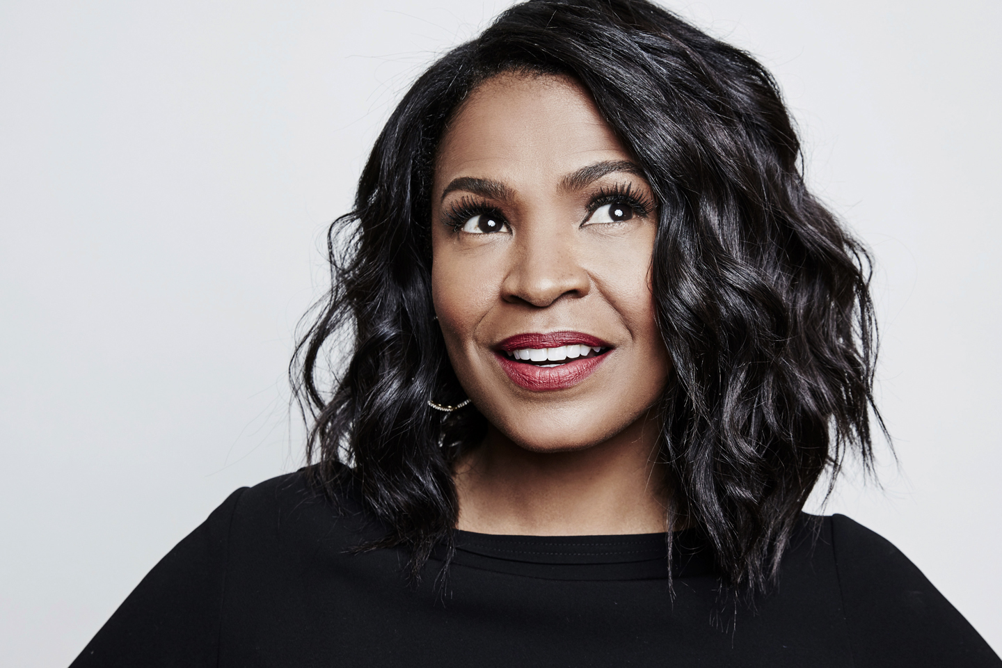 Nia Long of ABC Network's 'Uncle Buck' poses in the Getty Images Portrait Studio at the 2016 Winter Television Critics Association press tour at the Langham Hotel on January 9, 2016 in Pasadena, California.
