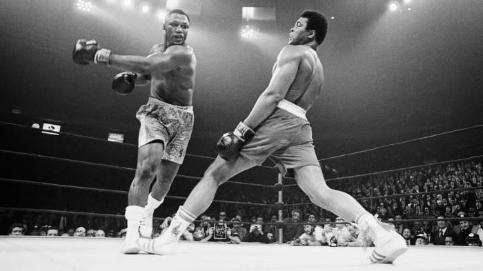 The muhammad ali boxing dna strand