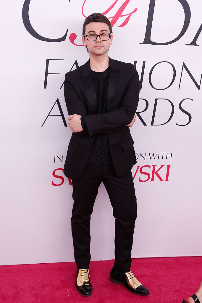 Christian Siriano attends the 2016 CFDA Fashion Awards at the Hammerstein Ballroom on June 6, 2016 in New York City.