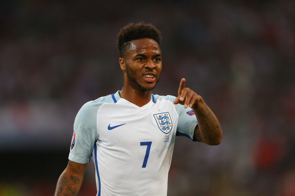 MARSEILLE, FRANCE - JUNE 11: Raheem Sterling of England during the UEFA EURO 2016 Group B match between England and Russia at Stade Velodrome on June 11, 2016 in Marseille, France. (Photo by Catherine Ivill - AMA/Getty Images)