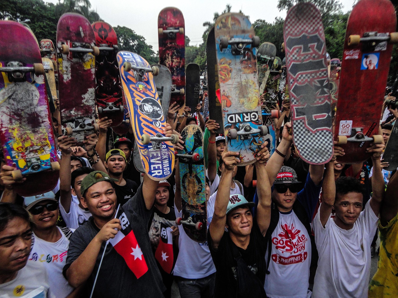 Go Skateboarding Day in Manila