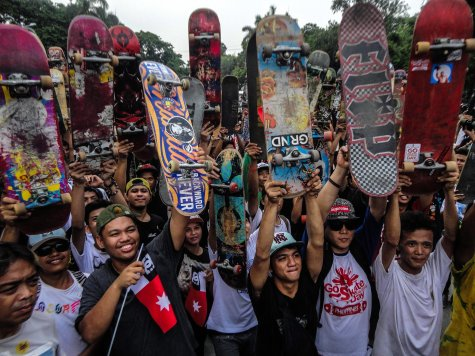 Go Skateboarding Day in Manila