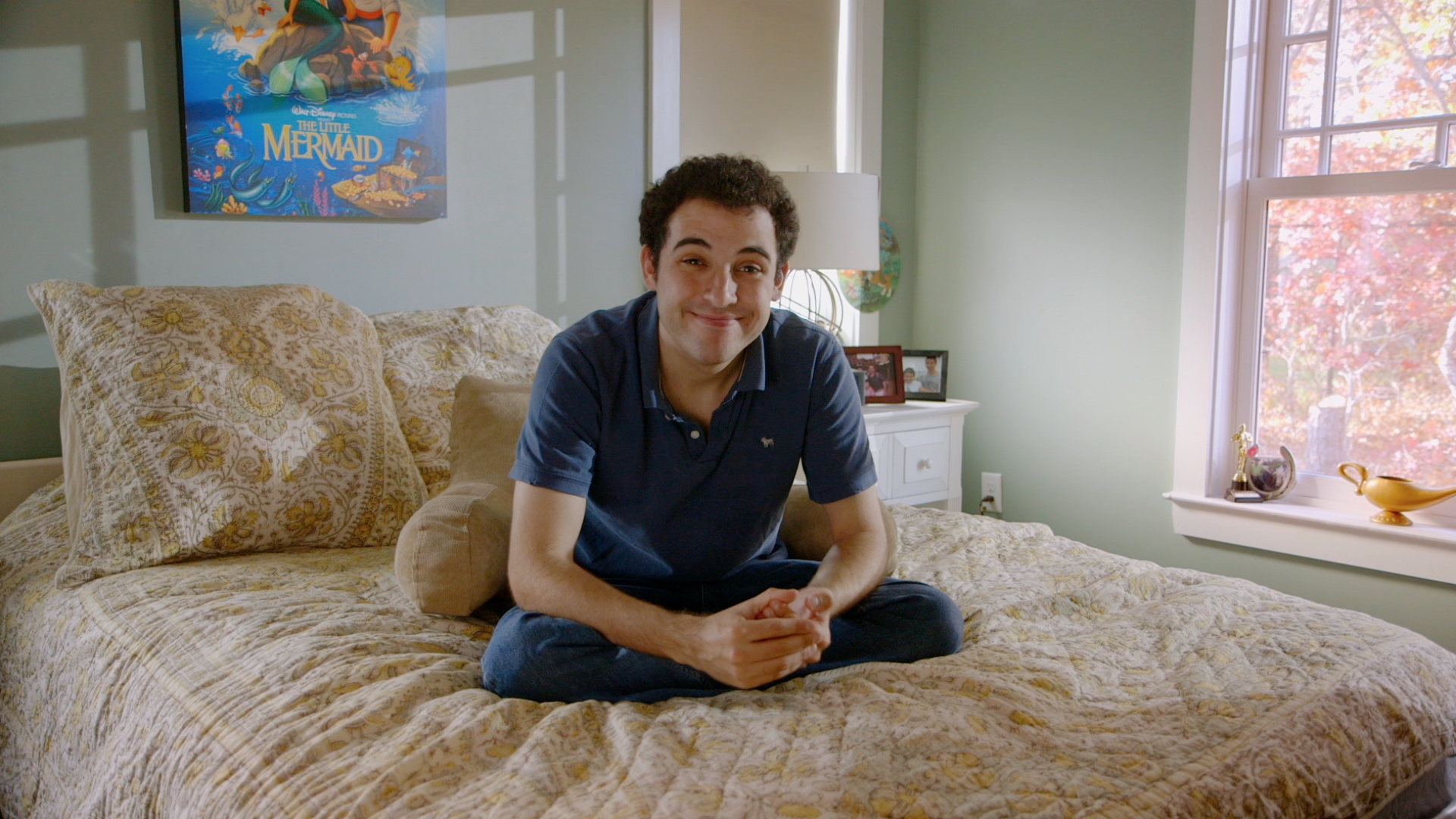Owen Suskind, the subject of Life, Animated.