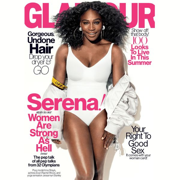 Serena Williams Glamour Cover