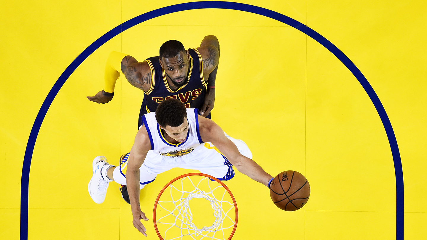 Is LeBron James obsessed with Steph Curry?