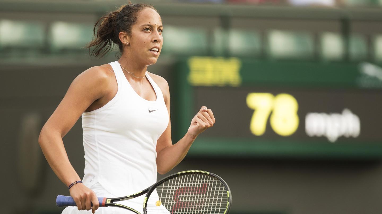 Tennis: Wimbledon Keys vs Cornet