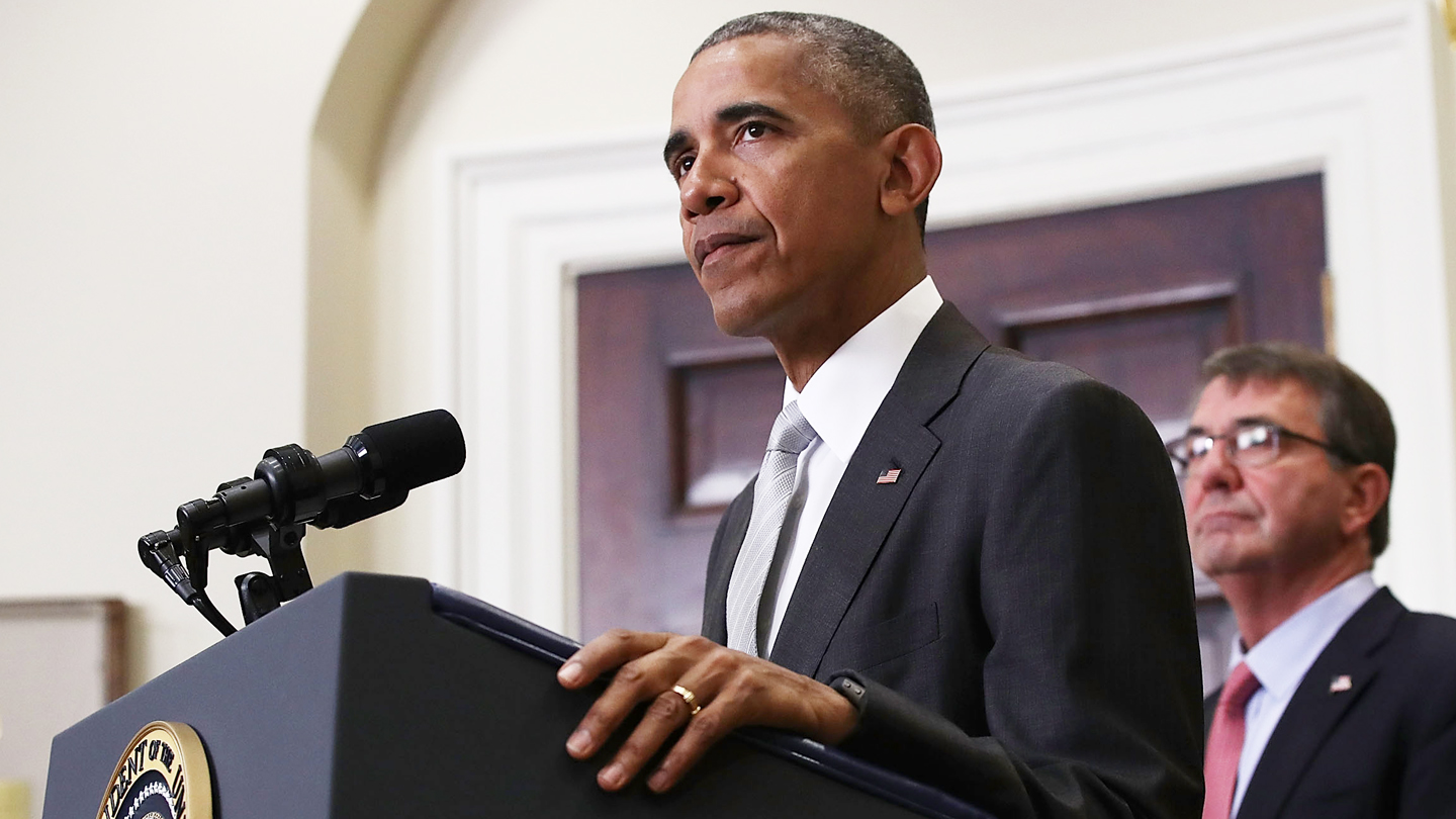 President Obama Makes Statement On Afghanistan At White House