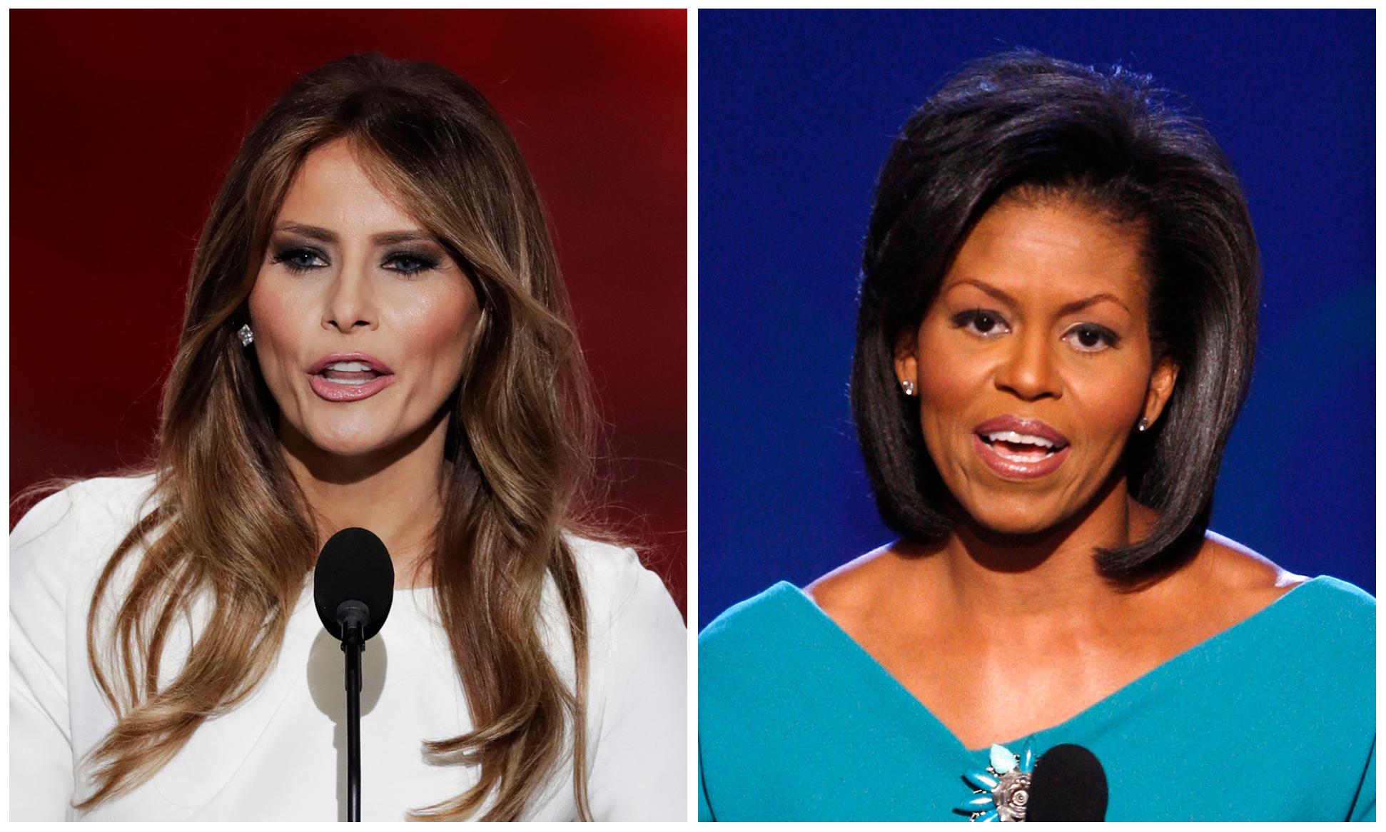 GOP 2016 Convention Melania Trumps Speech