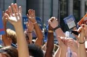 DNC Philadelphia Bernie Sanders Protest