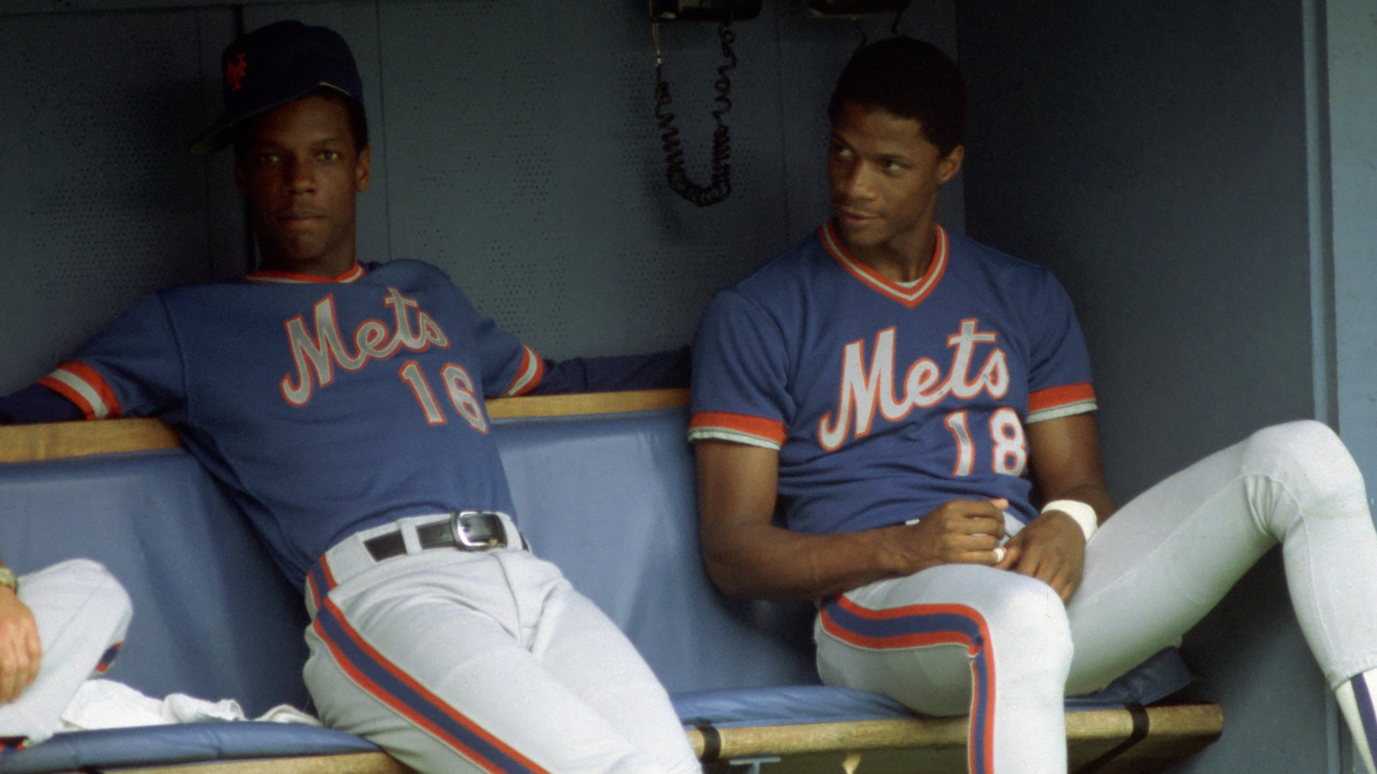 Mets Gooden and Strawberry