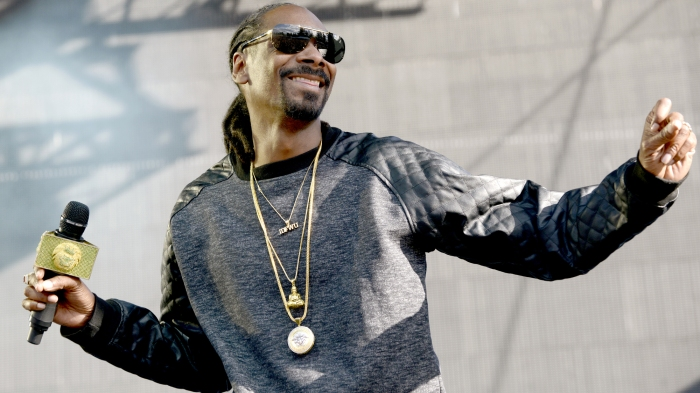 Snoop Dogg performs during the Bottle Rock Napa Valley Music Festival at Napa Valley Expo on May 31, 2015 in Napa, California.
