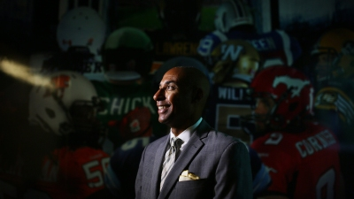 CFL Commissioner Jeffrey Orridge
