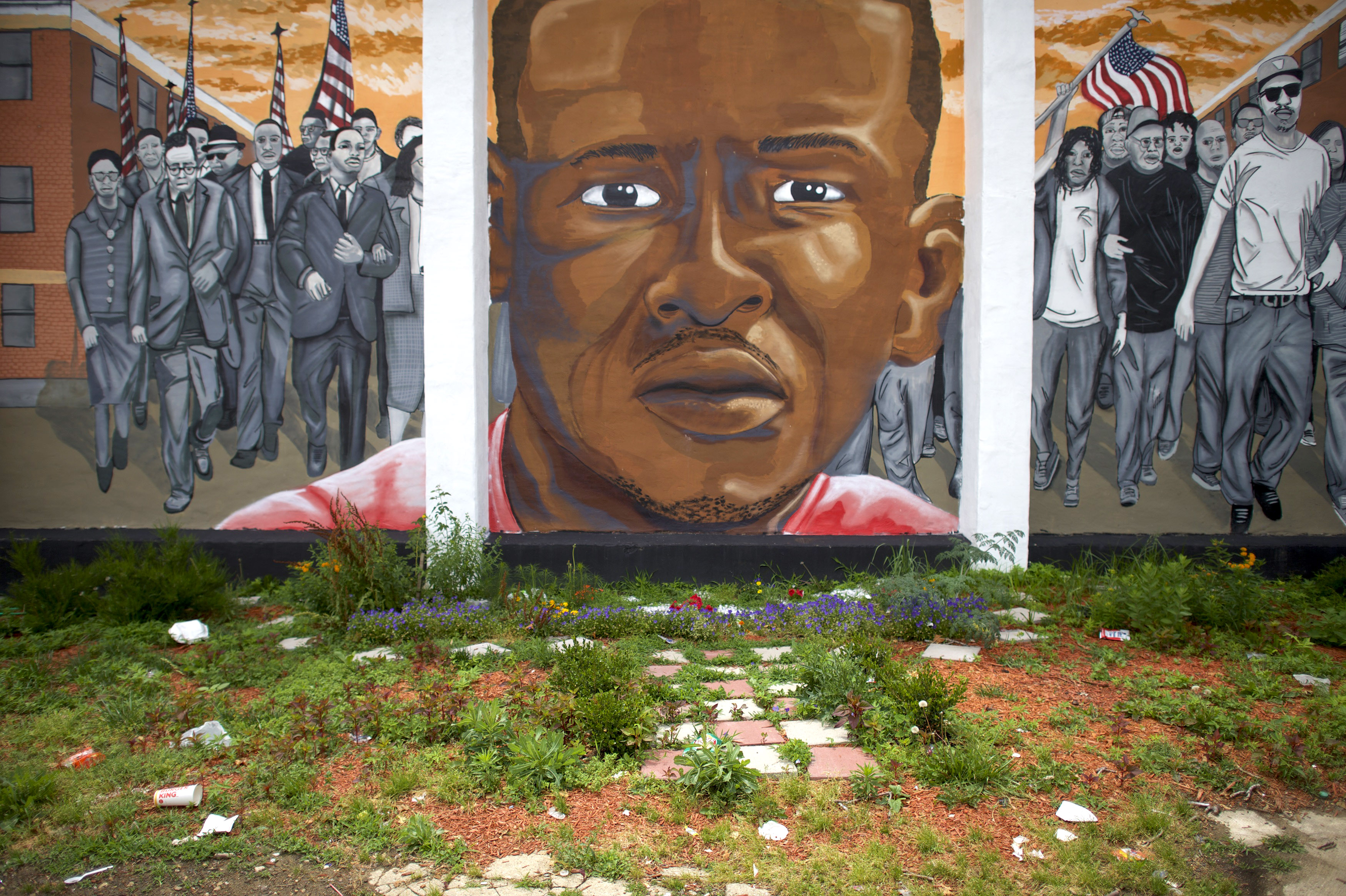 Baltimore Reacts As Freddie Gray Police Van Driver Found Not Guilty
