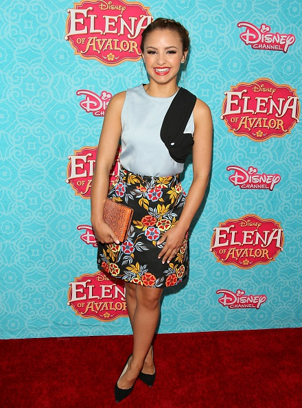 BEVERLY HILLS, CA - JULY 16: Aimee Carrero attends the screening of Disney Channel's 'Elena of Avalor' on July 16, 2016 in Beverly Hills, California. (Photo by JB Lacroix/WireImage)