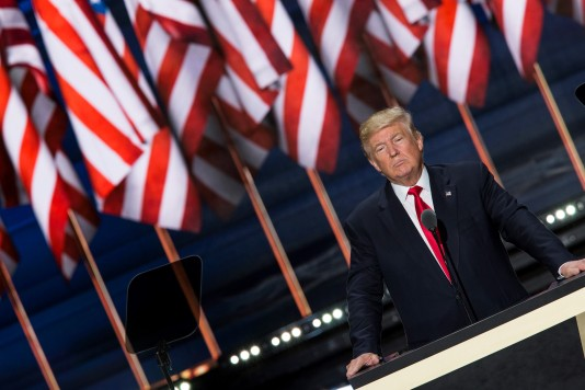 Donald Trump Accepts the Republican Presidential Nomination