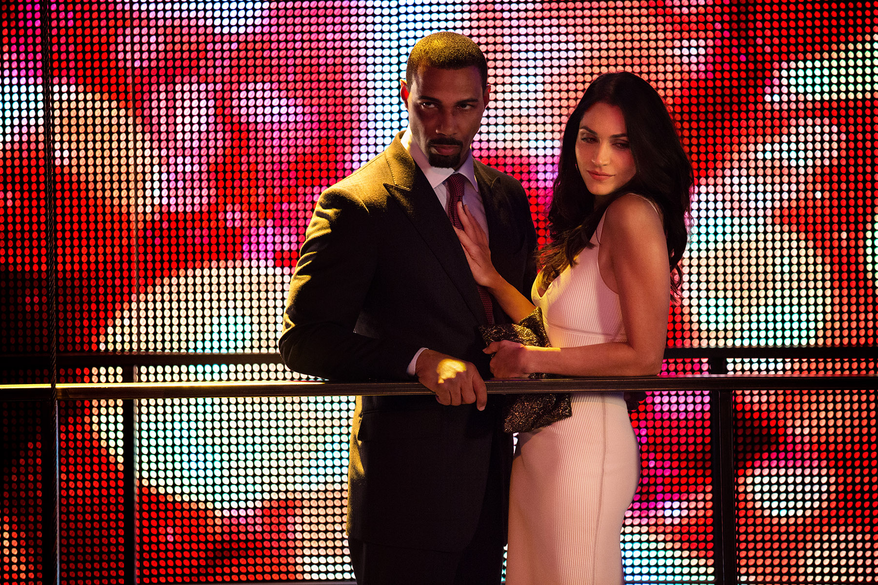 Omari Hardwick as James St. Patrick and Lela Loren as Angela Valdes in 'Power.'