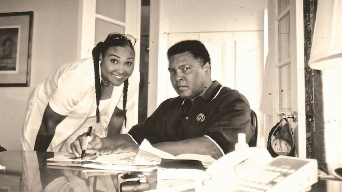 Maryum and Muhammad Ali