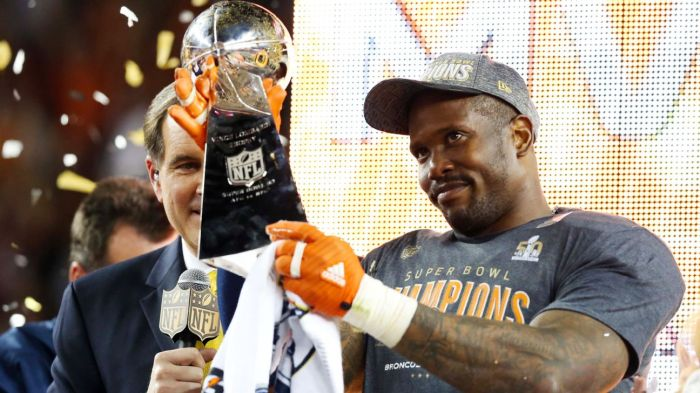 44a293e80d22 Von Miller – wearing only cowboy boots and a hat