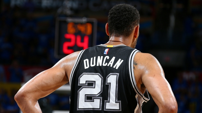 354e3094bce Five-time NBA champion Tim Duncan retires