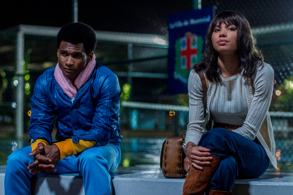 Usher Raymond and Jurnee Smollett-Bell star in HANDS OF STONE