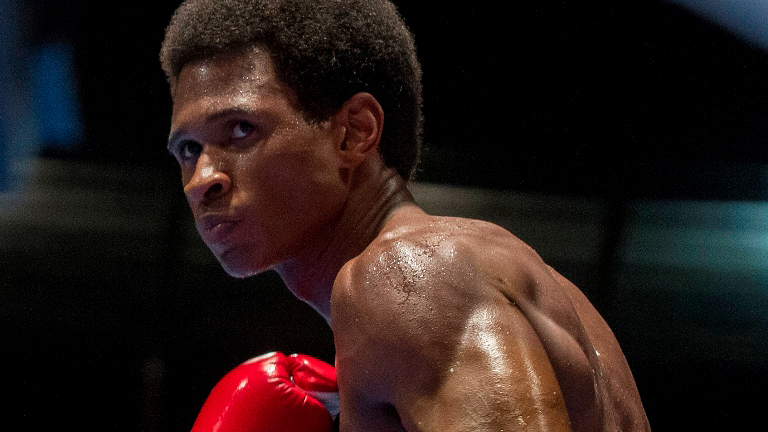 Usher Raymond stars in HANDS OF STONE