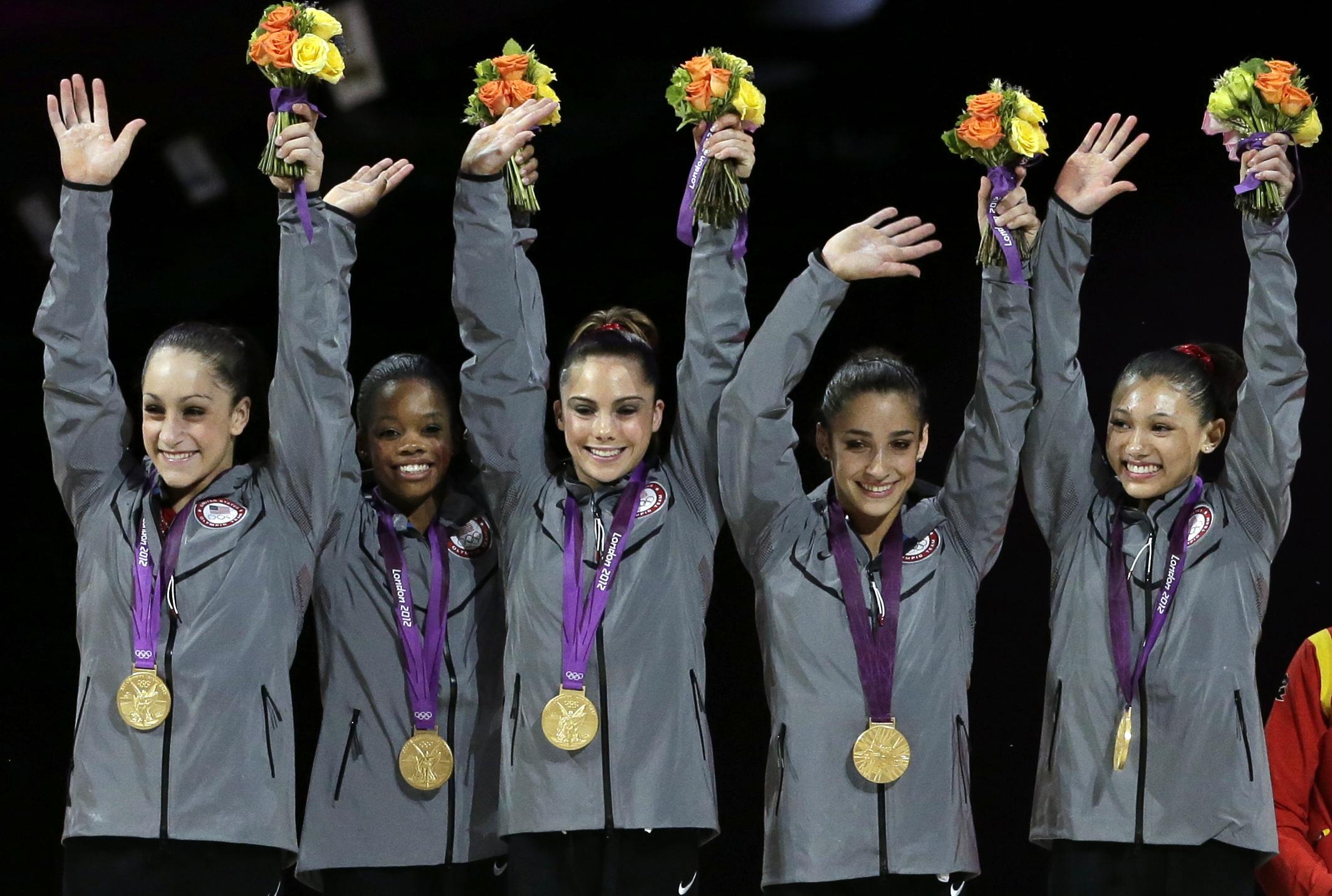 gold medal gymnastics - HD2126×1430