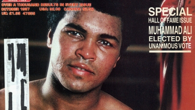 Ring Magazine Cover – Muhammad Ali