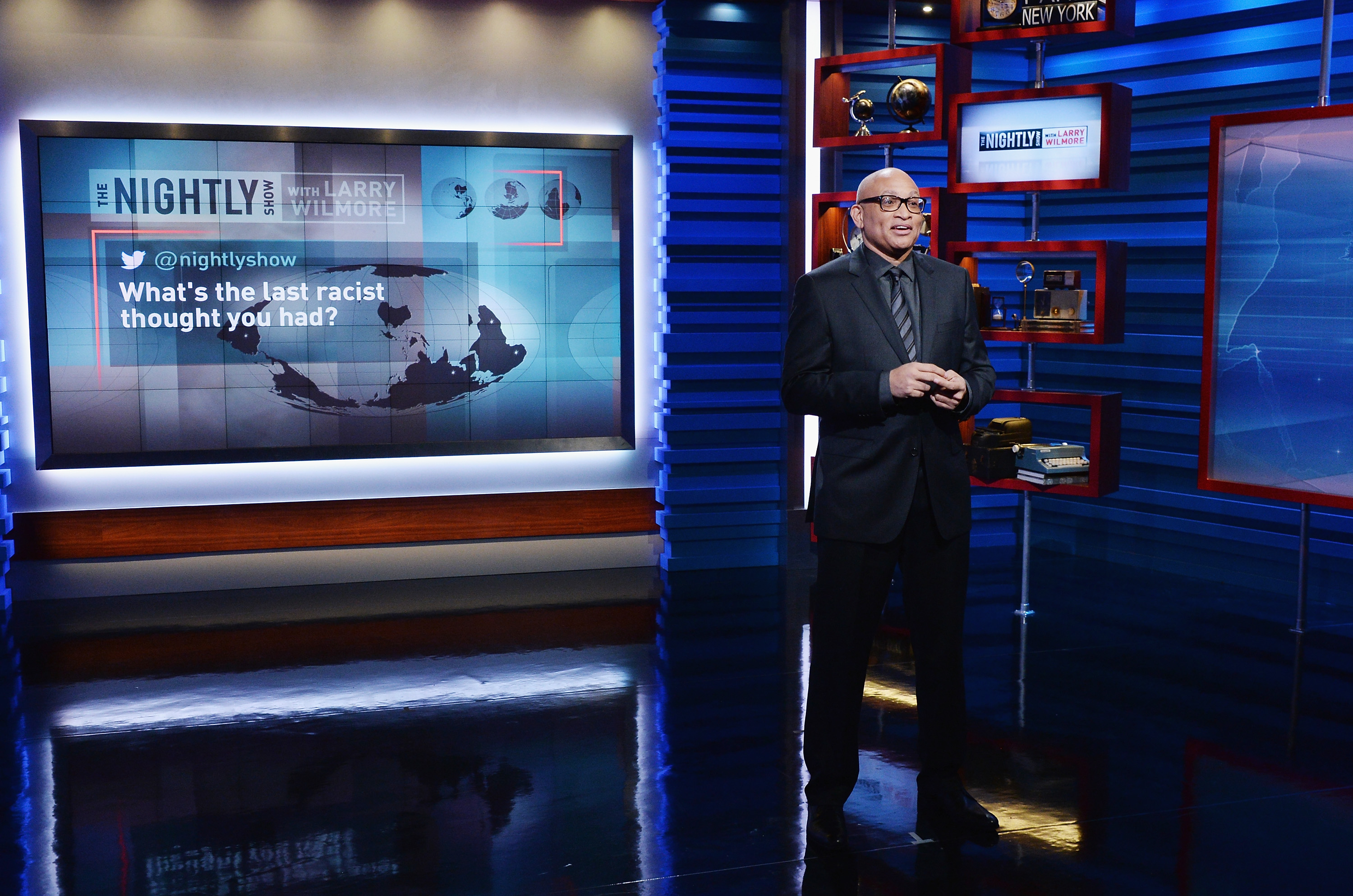 "Comedy Central's ""The Nightly Show With Larry Wilmore"" Makes Its Debut With Host, Executive Producer And Writer Larry Wilmore"
