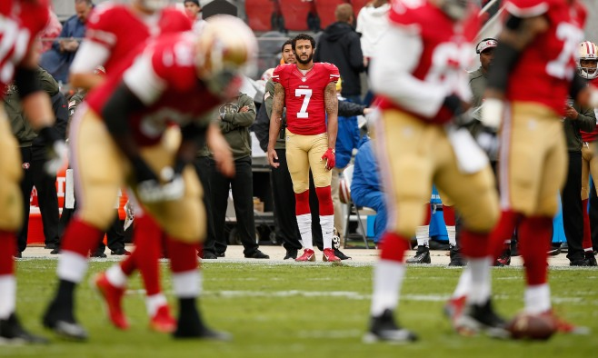 ee33a157b5a Taking a stand by sitting down: Kaepernick, Abdul-Rauf and the national  anthem