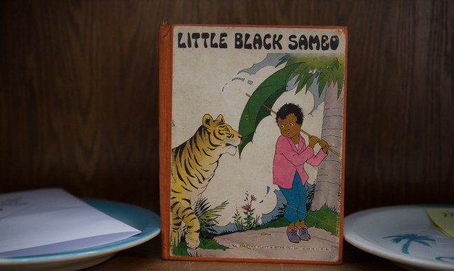 FALLS CHURCH, VA – FEBRUARY 11:  A 1928 LITTLE BLACK SAMBO. Pic