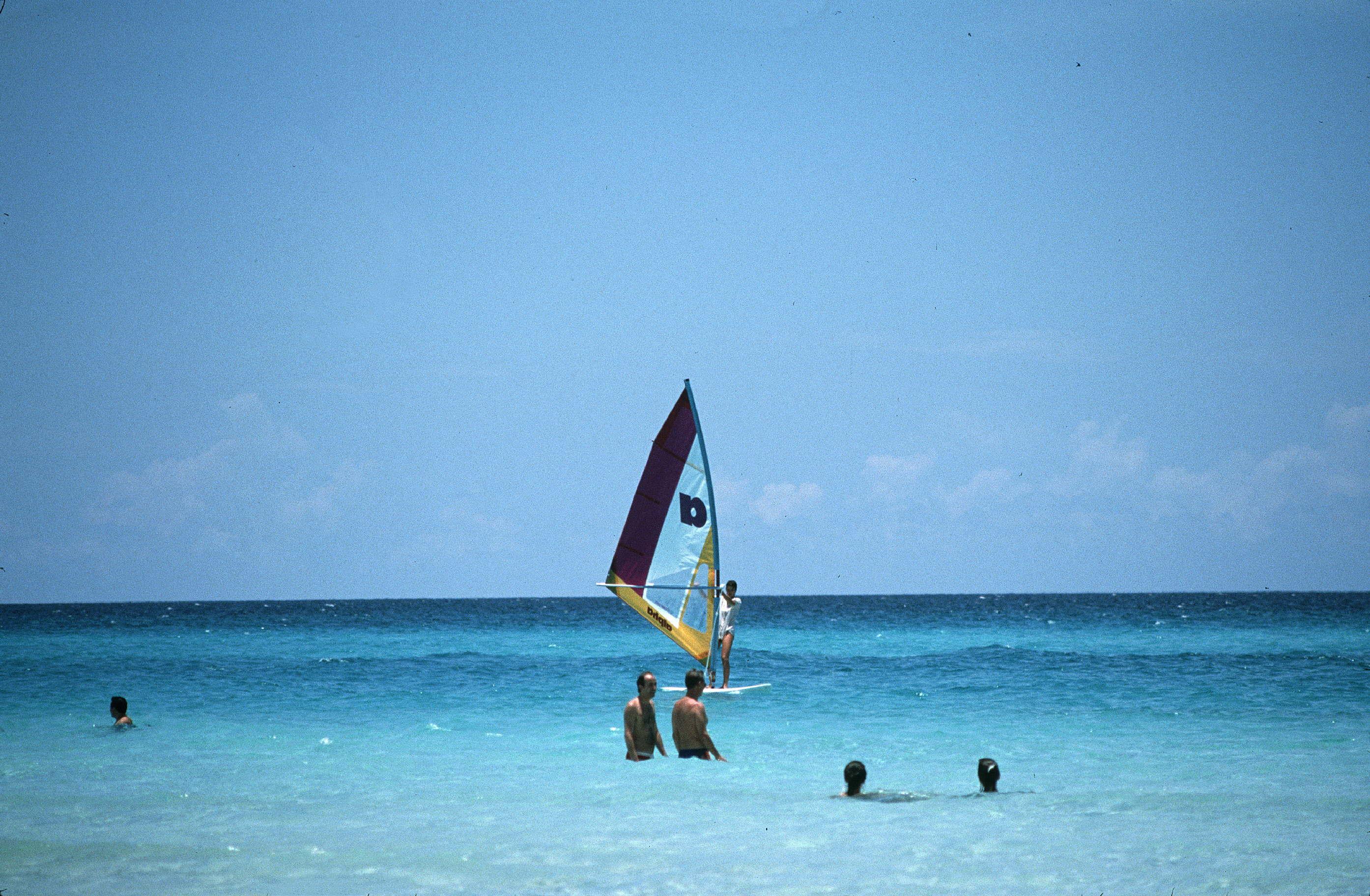 the Seaside. Varadero (Cuba), on 1988. FDM-58-1